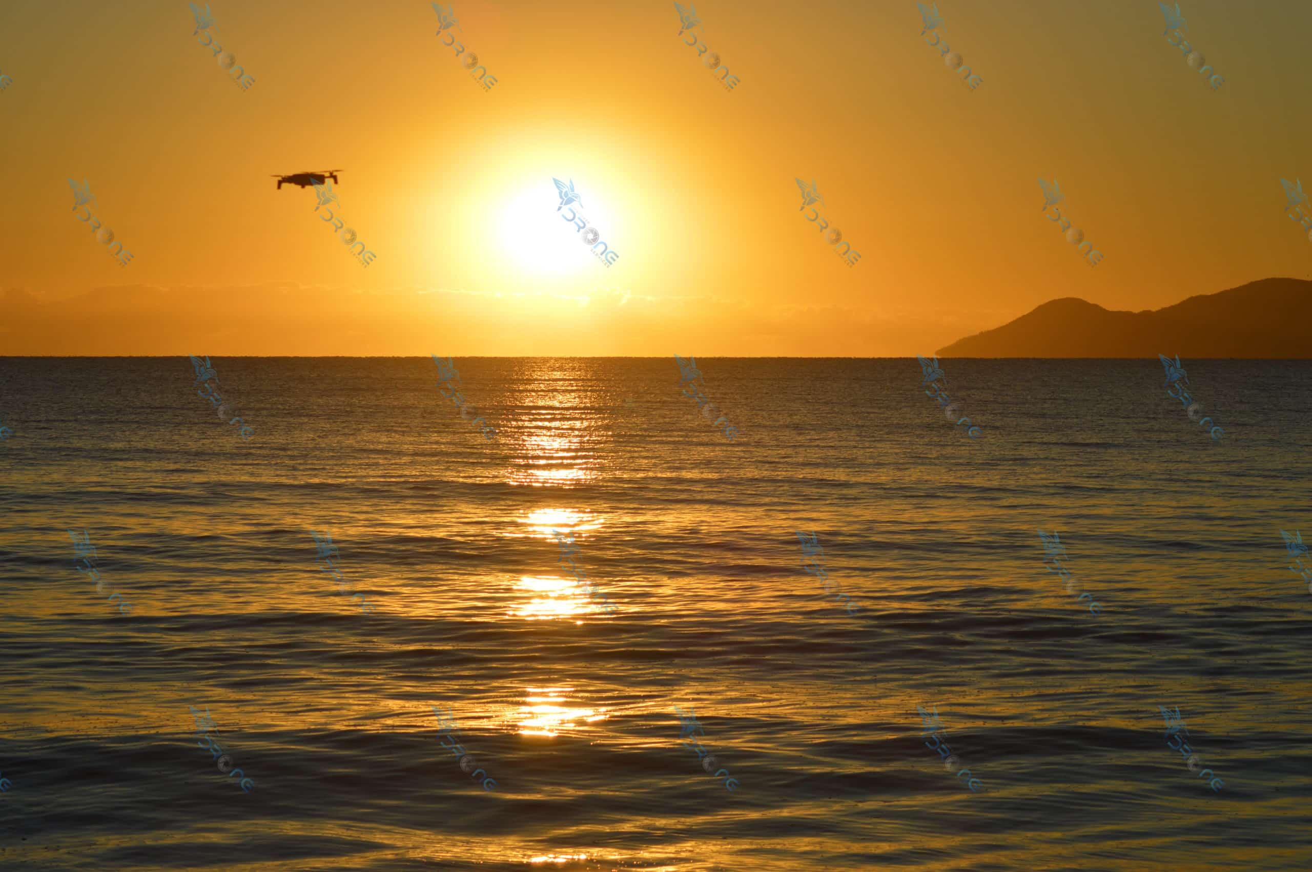 Parrot Anafi at Saunders Beach Sunrise