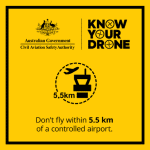 Know your Drone2 - 5.5km from airport