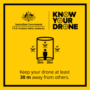 Know your drone2 - 30m away from people