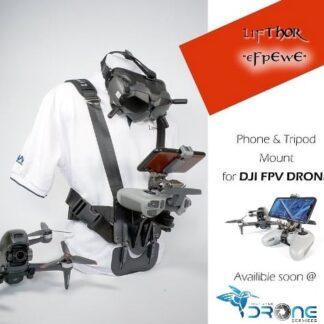 LifThor EfPeWe Phone and Tripod mount for DJI FPV