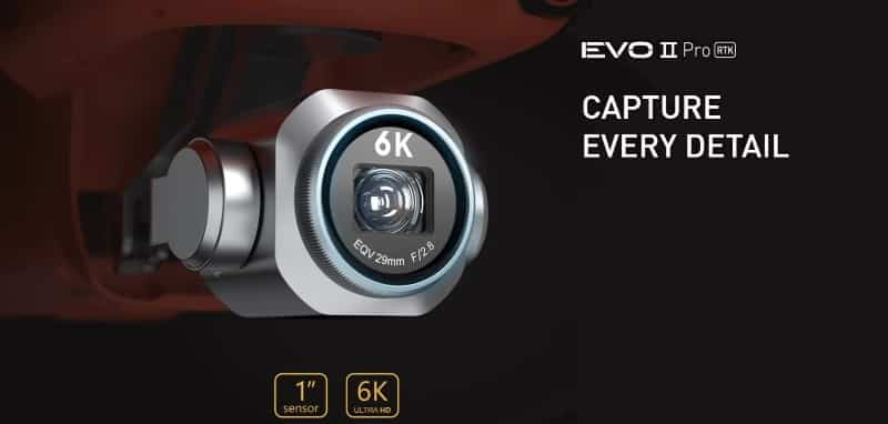 Evo II Pro RTK - Capture every detail