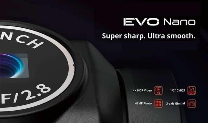 Autel Evo Nano Super Sharp Ultra Smooth